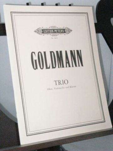 Goldmann F - Trio for Oboe Cello and Piano